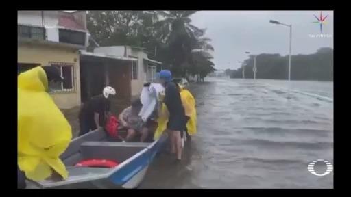 Tormenta 'Cristóbal' causa inundaciones y deslaves en Chiapas, Tabasco y Campeche
