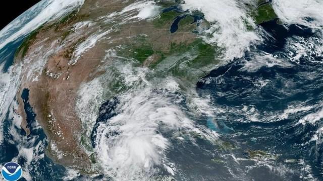 Se forma tormenta tropical 'Cristóbal' en el Golfo de México