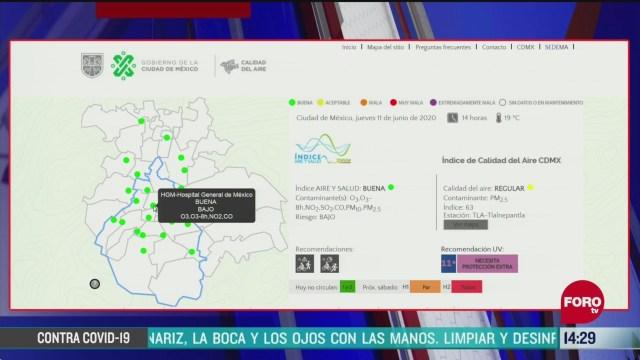 FOTO: valle de mexico registra buena calidad del aire