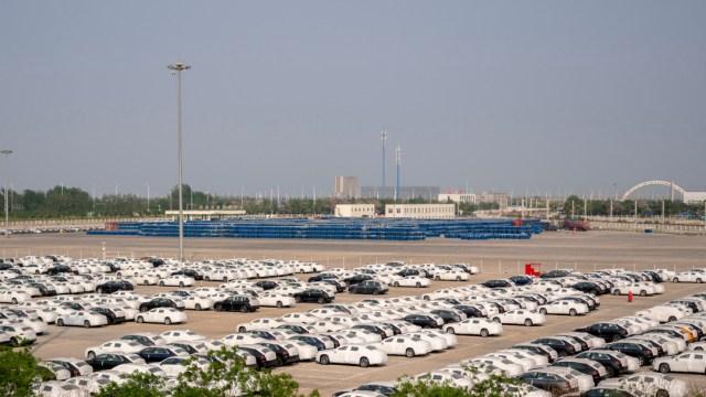 FOTO: Venta de vehículos en México cae 58.96% durante mayo: INEGI, el 3 de junio de 2020