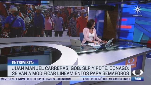 Entrevista con el gobernador de San Luis Potosí, para Despierta
