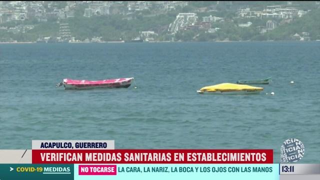 acapulco supervisa que establecimientos cumplan medidas sanitarias por covid