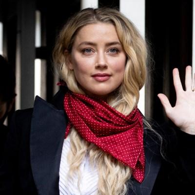 Actriz Amber Heard niega acusación de Johnny Depp sobre romance con Elon Musk