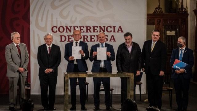 El Gobierno de México y la Oficina de las Naciones Unidas de Servicios para Proyectos (UNOPS) firmaron un acuerdo para la compra consolidada de medicamentos
