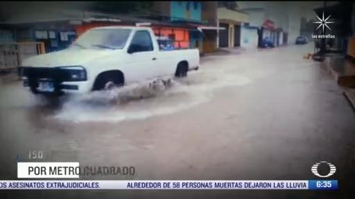 alerta en chiapas por lluvias e inundaciones