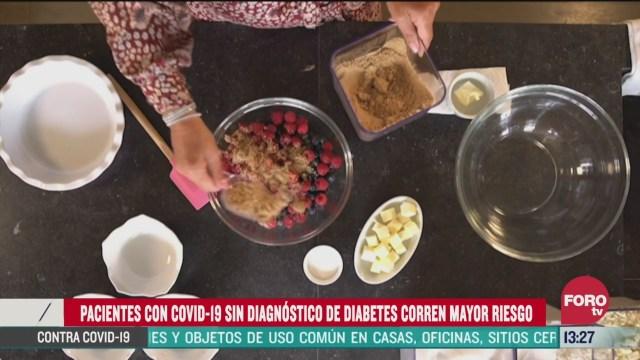 alto nivel de azucar complica riesgos en pacientes por covid