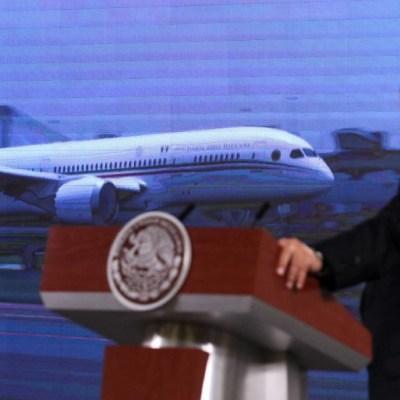 AMLO afirma que hay dos posibles compradores del avión presidencial