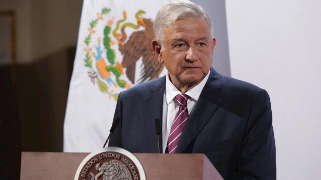 El presidente Andrés Manuel López Obrador en conferencia de prensa