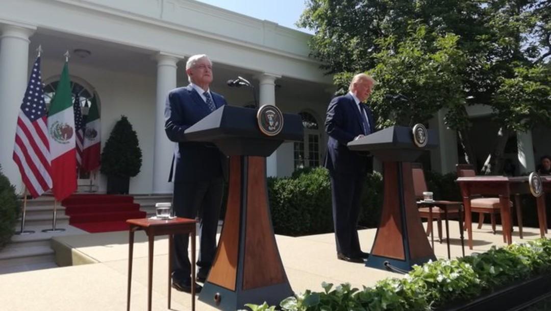 Crónica completa de la visita de AMLO a Donald Trump