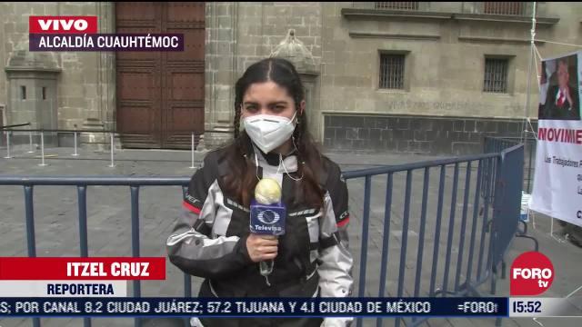amlo llega a palacio nacional tras visitar a trump en eeuu