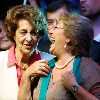 Muere Ángela Jeria, madre de Michelle Bachelet