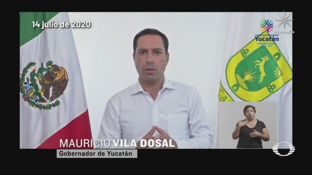 gobernador de Yucatán anuncia nuevas medidas para contener covid 19 ante el aumento de casos