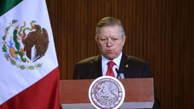 Arturo Zaldívar, ministro presidente de la Suprema Corte de Justicia de la Nación