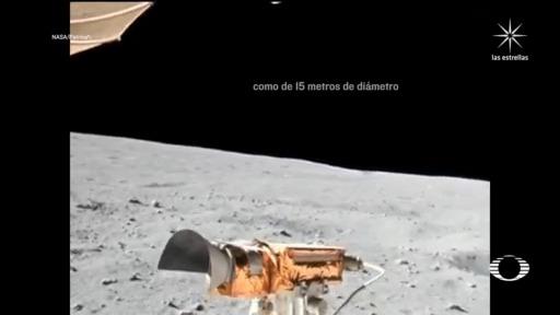 NASA revela video de la misión Apolo 16 en 4k de como sería una caminata en la luna
