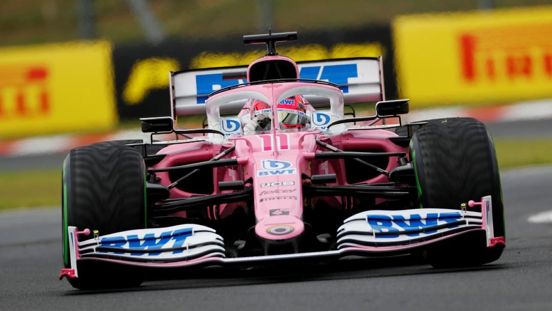 Auto de carreras del piloto Nico Hulkenberg