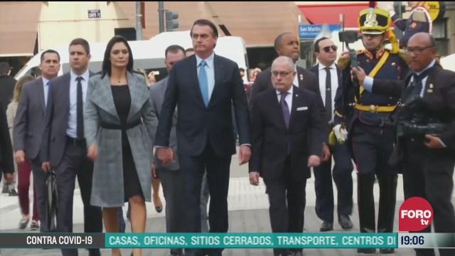jaisr bolsonaro presidente de Brasil tiene sintomas de covid 19