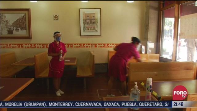 Café del Centro Histórico de CDMX abre sus puerta y lucha contra crisis por Covid-19