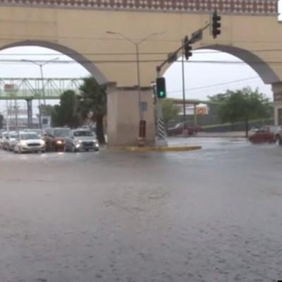 Continúan lluvias en Coahuila por depresión tropical Hanna