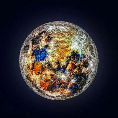 La Luna tiene más colores de los que creías; aquí la respuesta a por qué no los habías visto