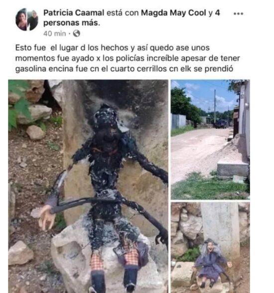 """Los """"muñecos diabólicos"""" aparecidos en Yucatán"""