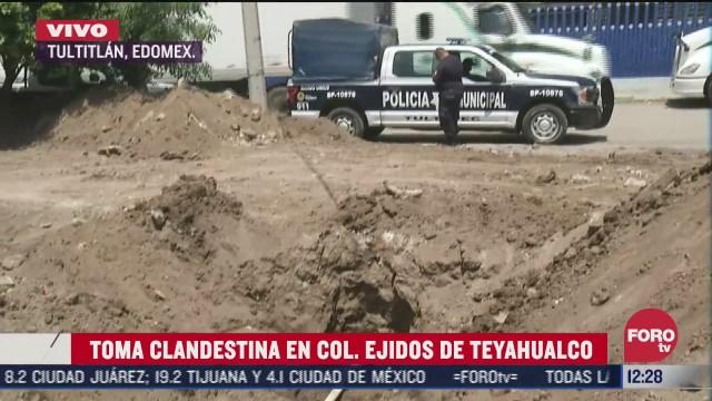 Hallan toma clandestina en Tultitlán, Estado de México