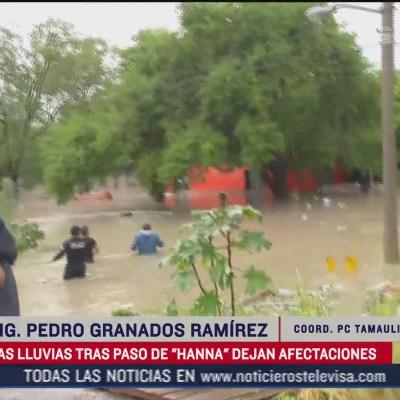 Cerca de 40 colonias de Reynosa, Tamaulipas, resultan con afectaciones por Hanna