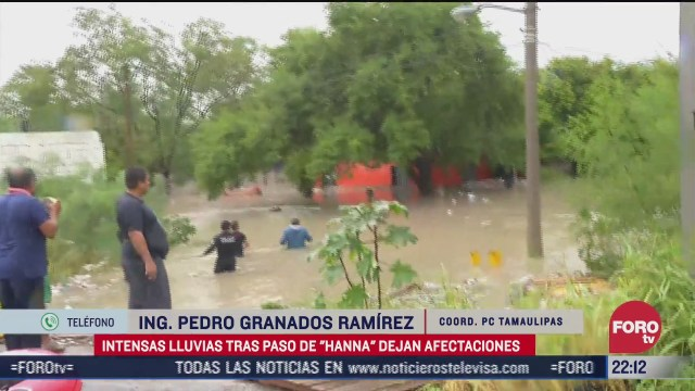 FOTO: 26 de julio 2020, cerca de 40 colonias de reynosa tamaulipas resultan con afectaciones por hanna