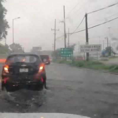 Se registran altas temperaturas y lluvias intensas en Yucatán