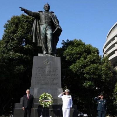 Cómo acabó una estatua de Benito Juárez en la capital de EEUU