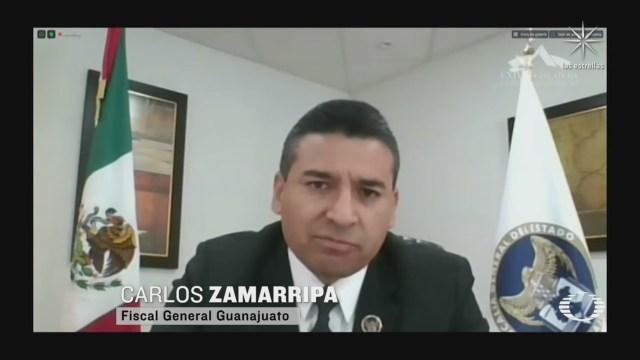 comparece el fiscal de guanajuato por el aumento de los indices delictivos