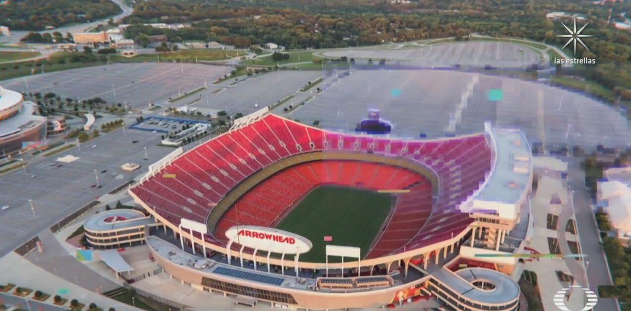 construyen replica del estadio de los jefes de kansas city