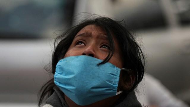 Familiar de una víctima de covid en México, imagen ilustrativa