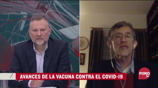 Leo Zuckermann y Antonio Lazcano analzian los avances para la vacuna contra el covid 19