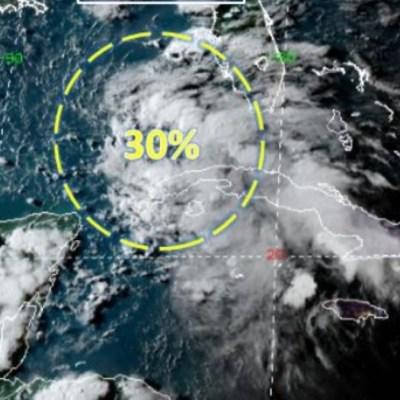 Se forma depresión tropical 'Siete' en el Atlántico