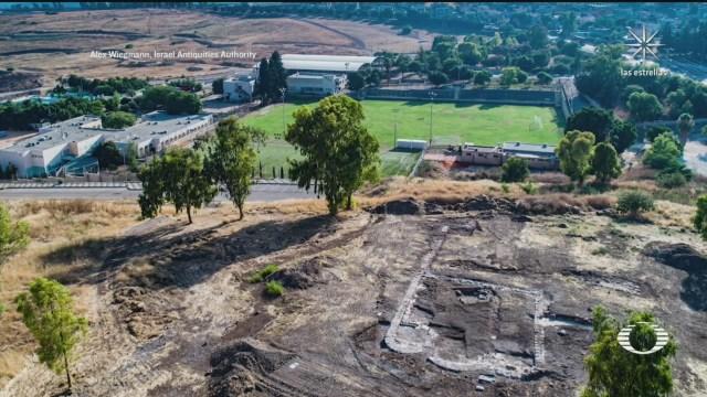 descubren en israel restos de iglesia de mil 300 anos de antiguedad
