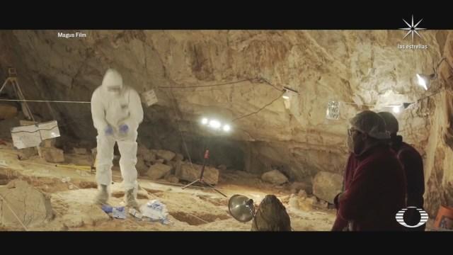 hallazgo de herramientas prehistoricas en cueva de Chiquihuite Zacatecas