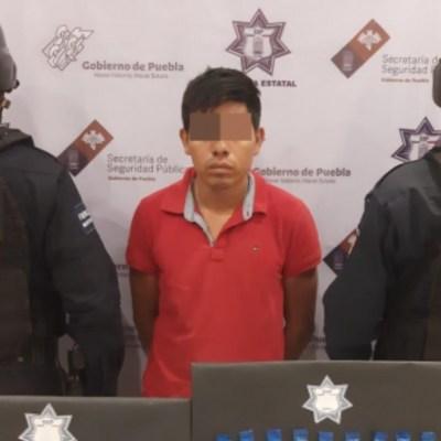Detienen a lugarteniente de 'Los Socios', banda dedicada al robo y narcomenudeo en Puebla