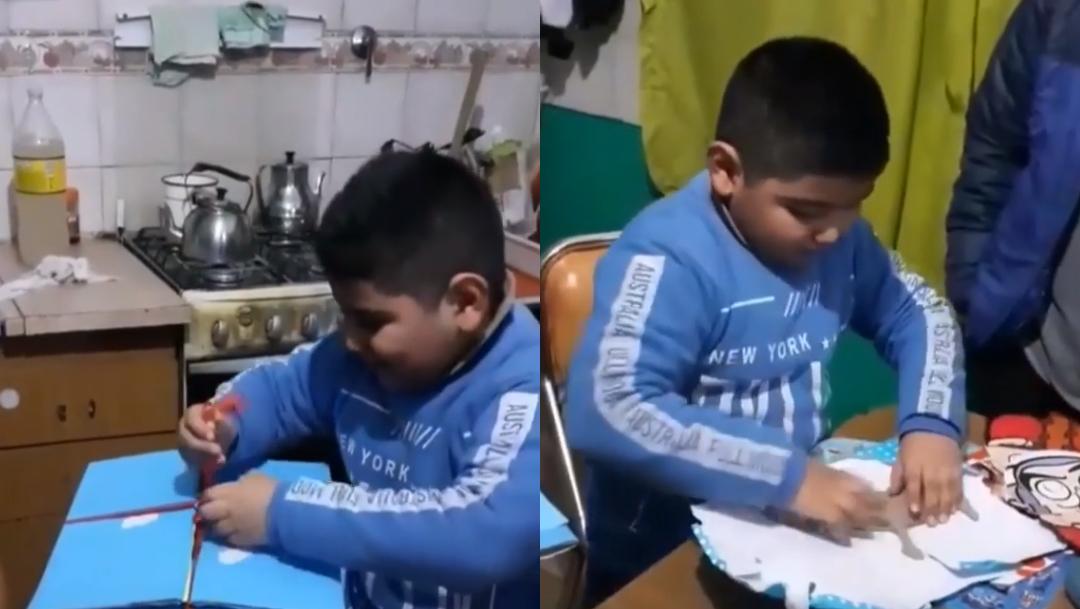 dieguito, niño de cumpleaños viral en redes sociales