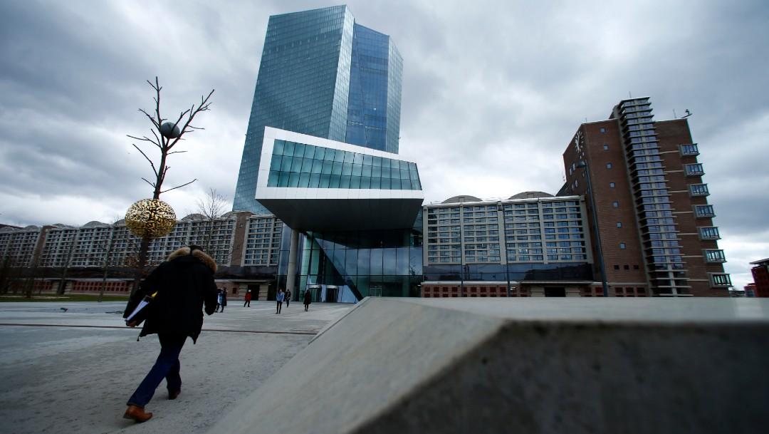 Edificio del Banco Central Europeo en Frankfurt, Alemania