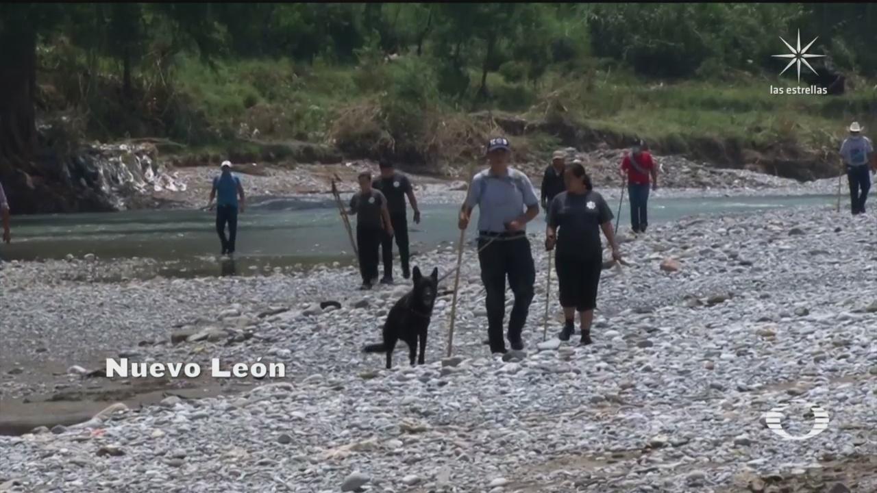 continúa la búsqueda de tres personas desaparecidas por inundaciones por la tormenta Hanna