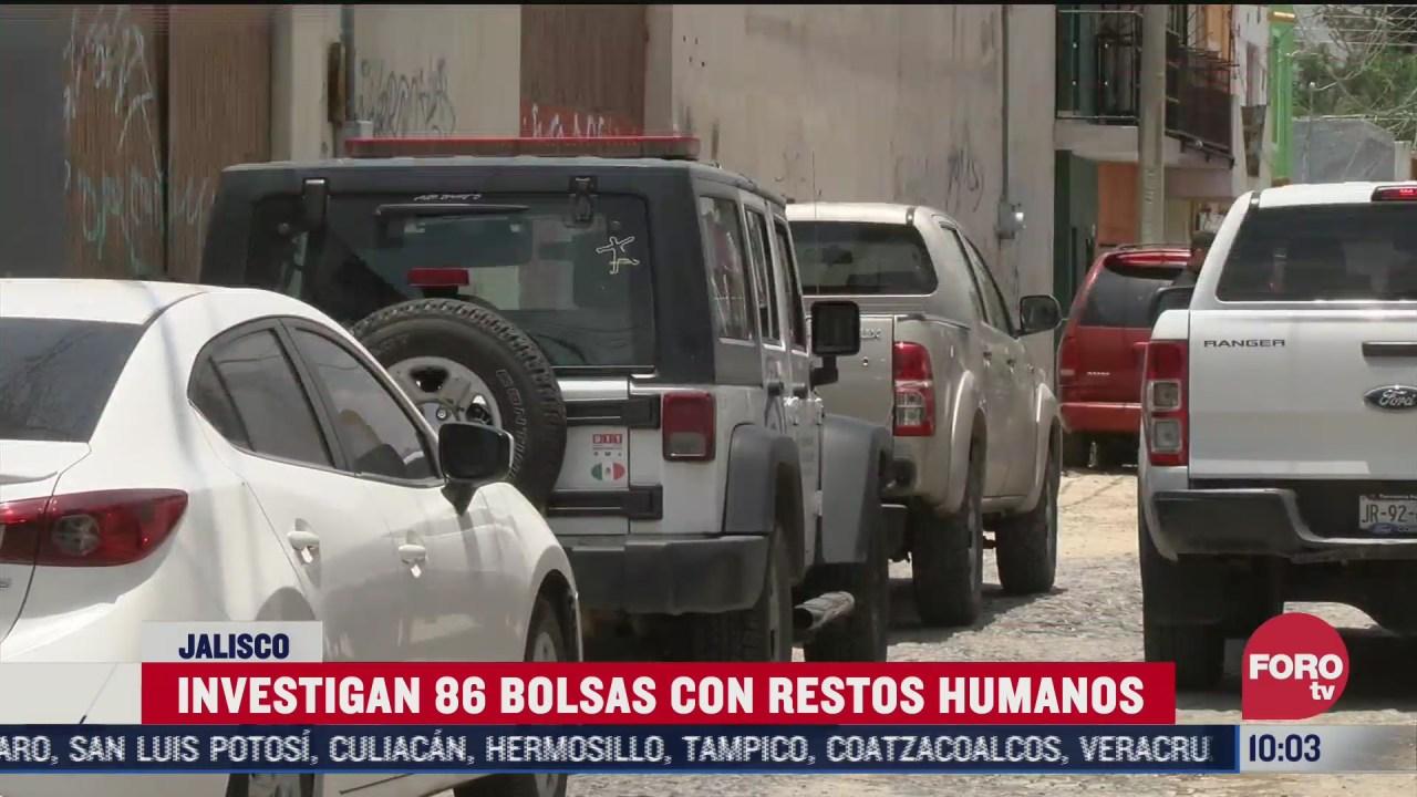 FOTO: 4 de julio 2020, encuentran 86 bolsas con restos humanos en jalisco