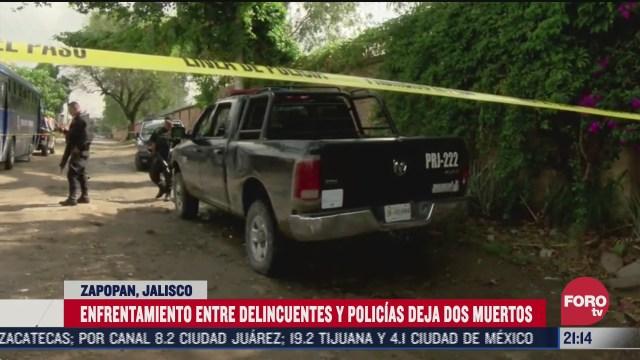policias de Zapopan matan a dos delicuentes de motocicletas en Jalisco