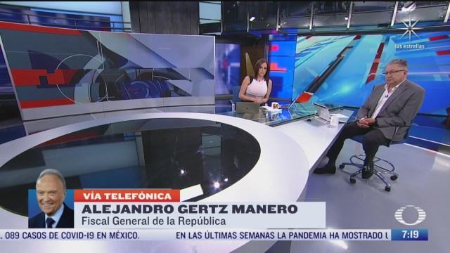 entrevista con alejandro gertz manero para despierta