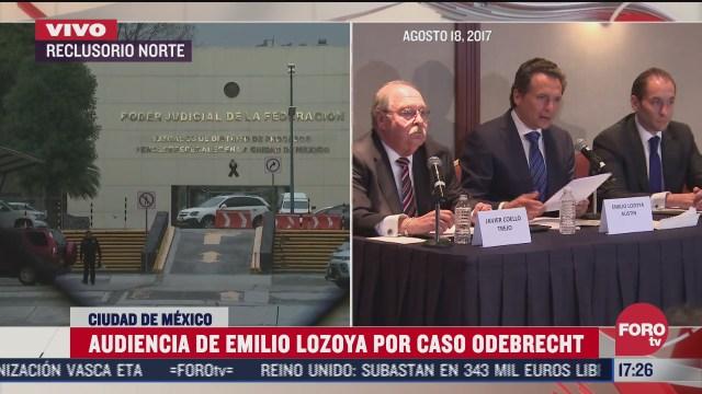 esperan resolucion contra emilio lozoya por caso odebrecht