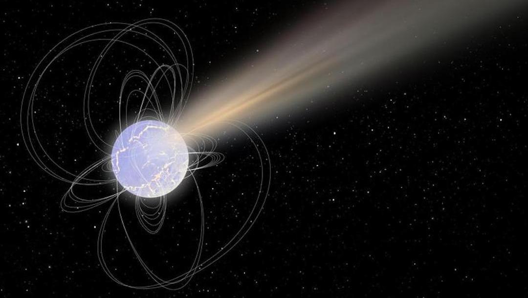 Estrella Muerta Radiación, Imagen, ESA