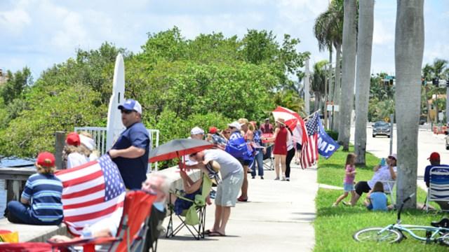 Visita de Donald Trump a Florida