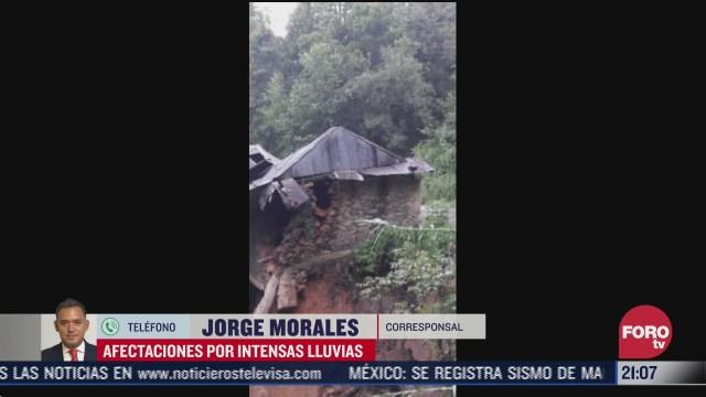 FOTO: 12 de julio 2020, habilitan dos albergues en municipio afectado por las lluvias en oaxaca