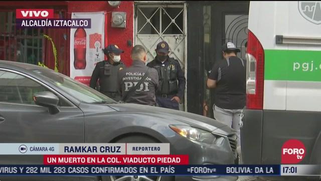 hombre muere tras rina en colonia viaducto piedad en cdmx