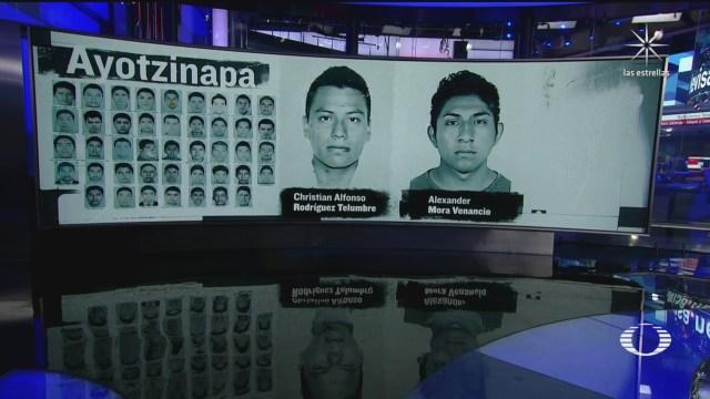 FOTO: 7 de julio 2020, identifican restos de christian alfonso rodriguez uno de los 43 de ayotzinapa