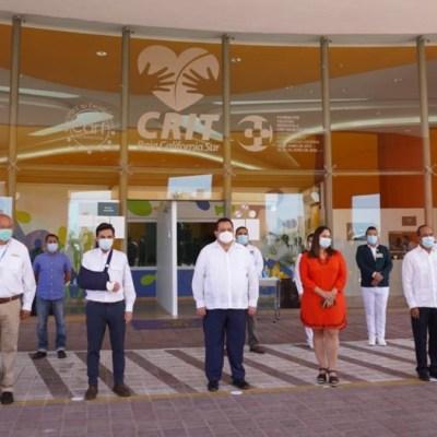 CRIT de La Paz, BCS, se convierte en hospital para pacientes no graves de COVID-19